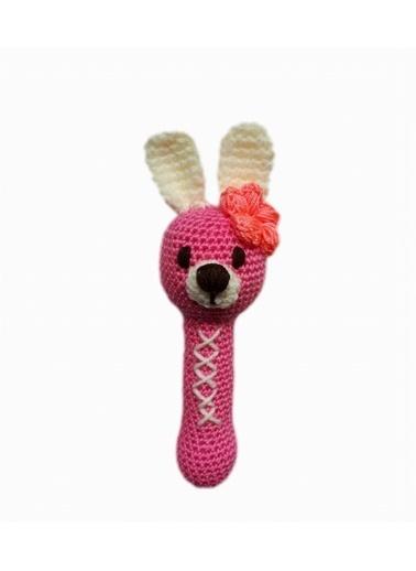 Damla Oyuncak Damla Oyuncak Tavşan Diş Kaşıyıcı Renkli Çıngırak Renkli